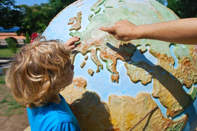 výuka zeměpisu