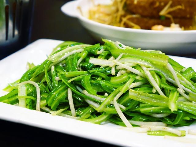 zdravá zelenina