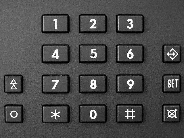 vytáčení telefonního čísla